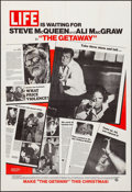"""Movie Posters:Action, The Getaway (National General, 1972). Very Fine-. One Sheet (27"""" X 41"""") Advance. Action.. ..."""