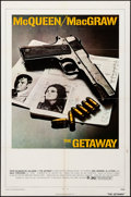 """Movie Posters:Action, The Getaway (National General, 1972). Folded, Very Fine-. One Sheet (27"""" X 41""""), Uncut Pressbook with Ad Supplements & Cut P... (Total: 9 Items)"""