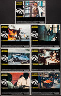 """Movie Posters:Action, The Getaway (National General, 1972). Very Fine+. Lobby Cards (7) (11"""" X 14""""). Action.. ... (Total: 7 Items)"""