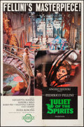 "Movie Posters:Foreign, Juliet of the Spirits (Rizzoli, 1965). Folded, Fine+. One Sheet (27"" X 41"") & Cut Pressbooks (2) (18 Pages, 11"" X 13.5""). Fo... (Total: 3 Items)"
