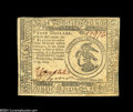Colonial Notes:Continental Congress Issues, Continental Currency November 29, 1775 $3 Very Choice New....