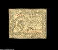 Colonial Notes:Continental Congress Issues, Continental Currency November 2, 1776 $8 Extremely Fine....