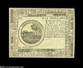 Colonial Notes:Continental Congress Issues, Continental Currency May 20, 1777 $6 Blue Counterfeit DetectorSuperb Gem New....
