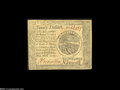 "Colonial Notes:Continental Congress Issues, Continental Currency ""September 26, 1778"" $20 Extremely Fine...."