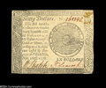 Colonial Notes:Continental Congress Issues, Continental Currency September 26, 1778 $60 New....
