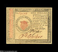 Colonial Notes:Continental Congress Issues, Continental Currency January 14, 1779 $1 Superb Gem New....