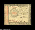 Colonial Notes:Continental Congress Issues, Continental Currency January 14, 1779 $45 About New....
