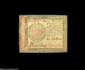 Colonial Notes:Continental Congress Issues, Continental Currency January 14, 1779 $60 About New....