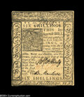 Colonial Notes:Delaware, Delaware January 1, 1776 6s Very Choice New....