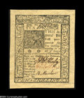 Colonial Notes:Delaware, Delaware January 1, 1776 10s Superb Gem New....