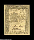 Colonial Notes:Delaware, Delaware May 1, 1777 1s Superb Gem New....
