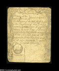 Colonial Notes:Massachusetts, Massachusetts December 7, 1775 4s/6d Fine....