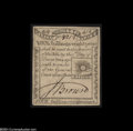 Colonial Notes:Massachusetts, Massachusetts 1779 4s8d Extremely Fine....