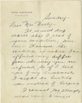 "Autographs:Letters, 1939 Lou Gehrig Handwritten Signed Letter Discussing His Illness.. ""Fans, for the past two weeks you have been reading a..."