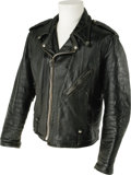 "Music Memorabilia:Costumes, Gene Vincent Worn Harley-Davidson Leather Jacket. ""King ofRockabilly"" and Rock and Roll Hall of Famer Gene Vincent was the..."