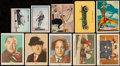 Non-Sport Cards:Lots, 1940'S-50's Non-Sport Card Collection (112) Including 3 Stooges....