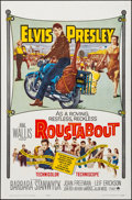 """Movie Posters:Elvis Presley, Roustabout (Paramount, 1964). Folded, Very Fine. One Sheet (27"""" X41""""). Elvis Presley.. ..."""