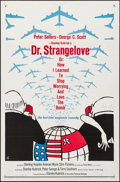 "Movie Posters:Comedy, Dr. Strangelove or: How I Learned to Stop Worrying and Love theBomb (Columbia, 1964). Folded, Very Fine-. One Sheet (27"" X ...(Total: 3 Items)"