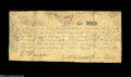 Colonial Notes:New Hampshire, New Hampshire June 20, 1775 6s Fine Repaired....