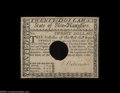 Colonial Notes:New Hampshire, New Hampshire April 29, 1780 $20 About New. Hole canceled ...