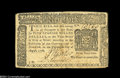 Colonial Notes:New York, New York August 13, 1776 $5 Choice Extremely Fine....