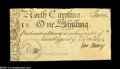 Colonial Notes:North Carolina, North Carolina March 9, 1754 1s About New....