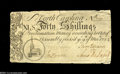 Colonial Notes:North Carolina, North Carolina March 9, 1754 40s Extremely Fine....