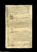 Colonial Notes:North Carolina, North Carolina December, 1771 Uncut Strip of Three Gem New....