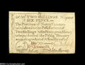 Colonial Notes:North Carolina, North Carolina December, 1771 2s6d Extremely Fine....