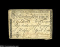 Colonial Notes:North Carolina, North Carolina April 2, 1776 $4 Extremely Fine....
