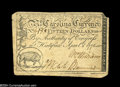 Colonial Notes:North Carolina, North Carolina April 2, 1776 $15 Extremely Fine....