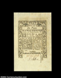 Colonial Notes:Rhode Island, Rhode Island May, 1786 6d Superb Gem New. An absolutely ...