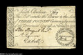 Colonial Notes:South Carolina, South Carolina November 15, 1775 L3 Very Fine-Extremely Fine....