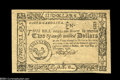 Colonial Notes:South Carolina, South Carolina December 23, 1776 $2 Superb Gem New....