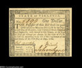 Colonial Notes:Virginia, Virginia May 1, 1780 $1 Gem New....