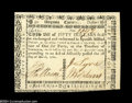 Colonial Notes:Virginia, Virginia March 1, 1781 $50 Choice About New....