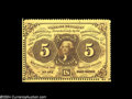 Fractional Currency:First Issue, Fr. 1228 5c First Issue Gem New. An unusually nice example ...