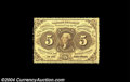 Fractional Currency:First Issue, Fr. 1228 5c First Issue Very Choice New....