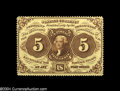 Fractional Currency:First Issue, Fr. 1229 5c First Issue Gem New....