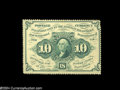 Fractional Currency:First Issue, Fr. 1240 10c First Issue Very Choice New....