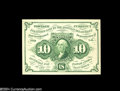 Fractional Currency:First Issue, Fr. 1243 10c First Issue Superb Gem New....