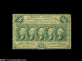 Fractional Currency:First Issue, Fr. 1310 50c First Issue Inverted Back Fine....