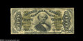 Fractional Currency:Third Issue, Fr. 1341 50c Third Issue Spinner Inverted Back Surcharge Fine....