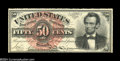 Fr. 1374 50c Fourth Issue Lincoln Choice New. A very nice Lincoln that would grade Gem save for the lack of a bottom mar...