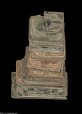 Fractional Currency:Group Lots, Seventy-three Mixed Grade Fractionals.... (73 notes)