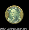Encased Postage: , HB-133 EP-116 10¢ J. Gault About New A terrific example torepresent the denomination. The case is a nice natural lightbrass...