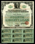 Miscellaneous:Other, Fourth Liberty Loan 4 1/4% Gold Bond of 1933-1938....
