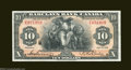 Montreal, PQ- Barclay's Bank $10 Jan. 2, 1935 Ch. 30-12-06 A high grade example of this colorful note which appears new...