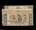 Confederate Notes:Group Lots, A Confederate Hoard.... (10 notes)