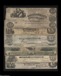 Confederate Notes:Group Lots, Additional Confederate Cash... (7 notes)